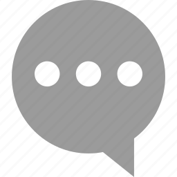 bubble, chat, loading, sms, talk icon