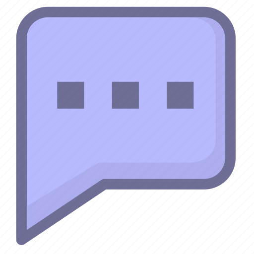 chat, discuss, faqs, message, reviews icon