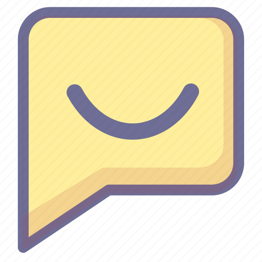 chat, discuss, message, reviews, satisfied icon