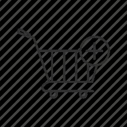 add to cart, online shopping, shopping, shopping cart icon