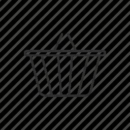 basket, cart, online shopping, shopping, shopping basket icon