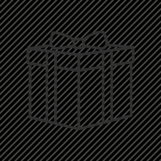 box, gift, gift box, present icon