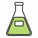 apparatus, chemical, erlenmeyer, flask icon