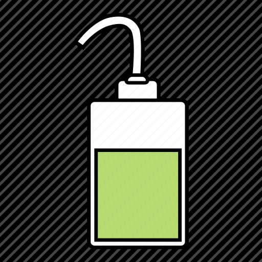 apparatus, bottle, chemical, wash icon