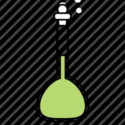 apparatus, chemical, flask, volumetric icon
