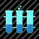 beaker, chemicals, chemistry, equipment, flask, test, tube icon