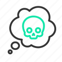 chemistry, danger, msds, poison, poisonous, science, warning icon
