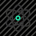 atom, chemistry, neutron, nucleus, proton, rutherford model, science