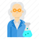 biology, chemistry, education, science, scientist icon