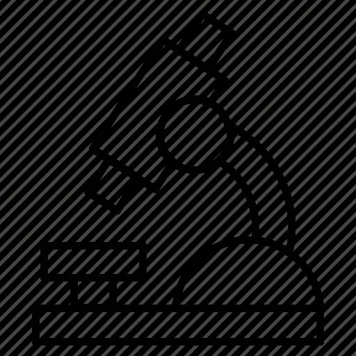 analysis, experiment, lab, laboratory, microscope icon icon