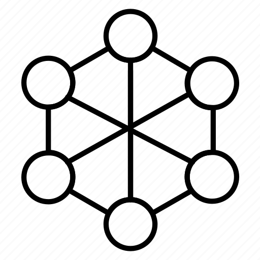atom, chemistry, connection formula icon, experiment icon