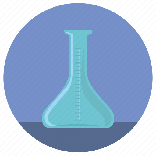 chemistry, empty, glass, tube icon