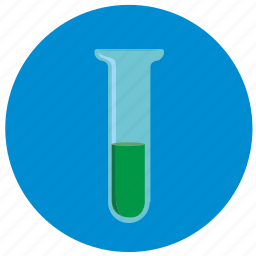 chemistry, fluid, glass, tube icon
