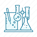 chemistry, equipment, laboratory, research, science, tool icon