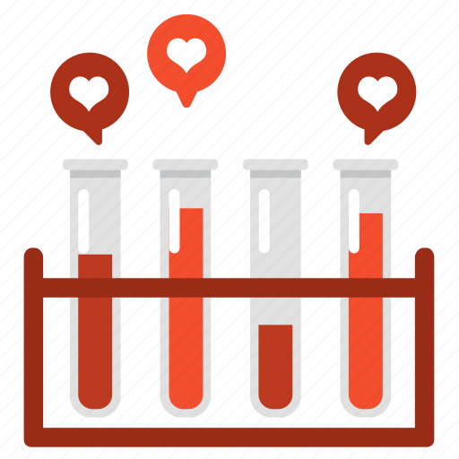 chemistry, love, mixture, science, test, tube, valentine icon
