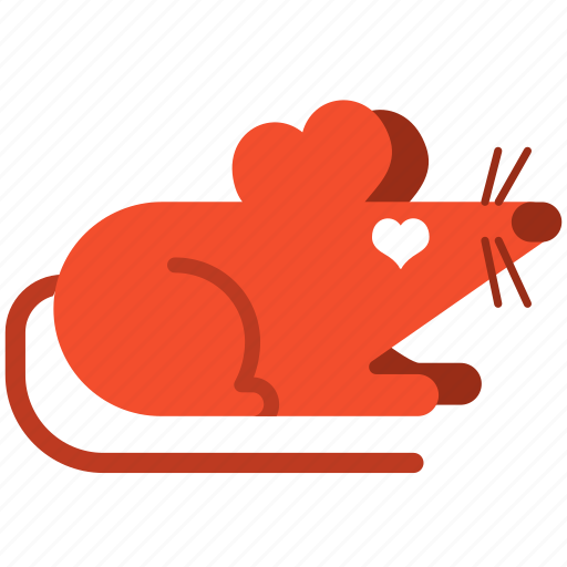 guinea pig, love, mouse, rat, rodent, romance, romantic icon