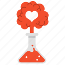 bomb, chemical, chemistry, experiment, love, reaction, valentine icon