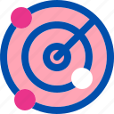 gps, location, map, place, radar icon