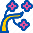 blossom, cherry, japan, sakura, tree icon