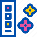 blossom, cherry, color, palette, spring