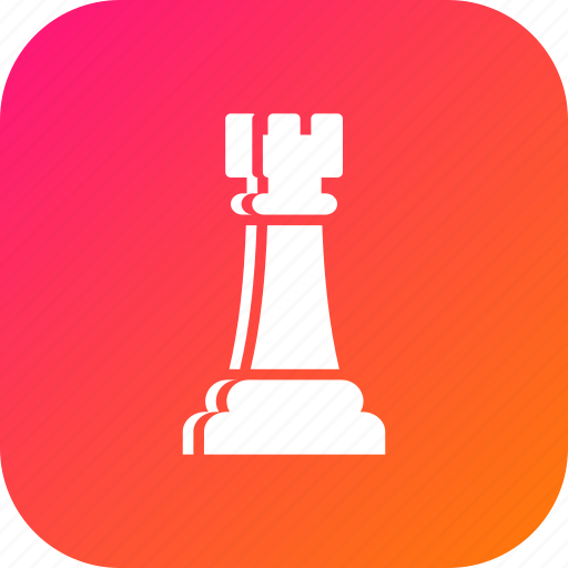 battle, checkmate, chess, figure, game, games, rook icon
