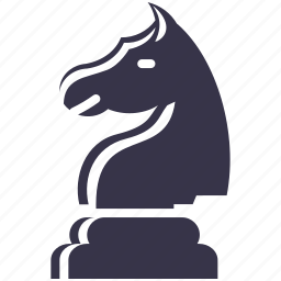 battle, checkmate, chess, figure, games, horse, knight icon
