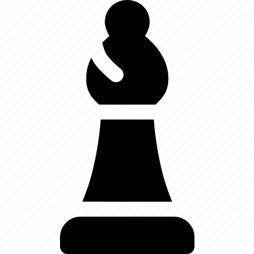 bishop, board, chess, game, piece, strategy icon