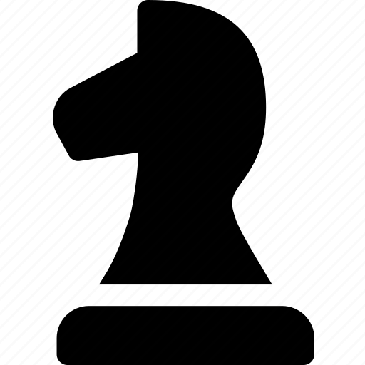 board, chess, figure, game, knight, strategy icon