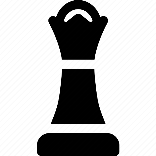 board, chess, game, piece, queen, strategy icon