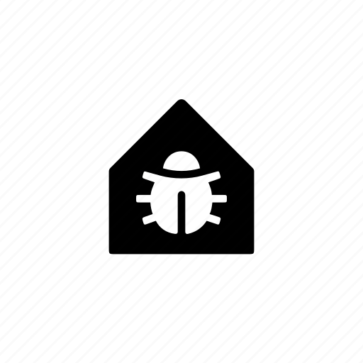 bug, chess, house, style, variant icon