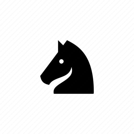 chess, game, knight, piece, strategy icon