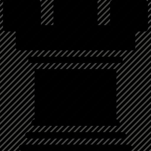chess, chess-piece, creative, elephant, grid, piece, rook, shape icon