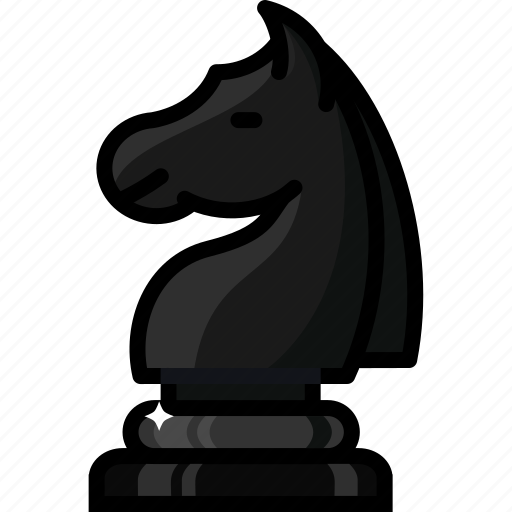 battle, chess, figure, games, horse, knight, move icon