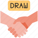 draw, game, shakehands, hand, play, sport, chess
