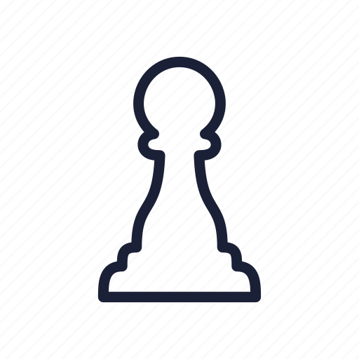 Chess, chess piece, pawn, piece icon - Download on Iconfinder