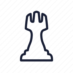 castle, chess, chess piece, piece, rook, tower icon
