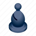 bishop, board, chess, game, piece icon