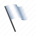 chess, flag, forfeit, lose, waive, win icon