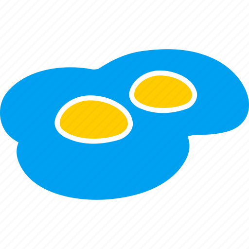 breakfast, chicken eggs, egg, food, fried eggs, scrambled eggs icon