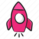 launch, missile, projectile, rocket, spacecraft