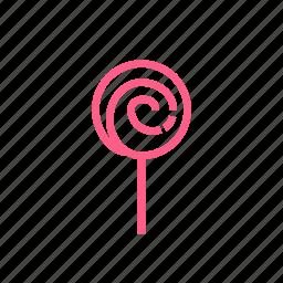 baby, candy, caramel, fun, joy, lollipop icon