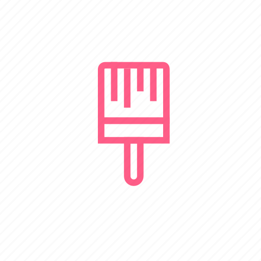 brush, painting, repair, scoop, shovel icon