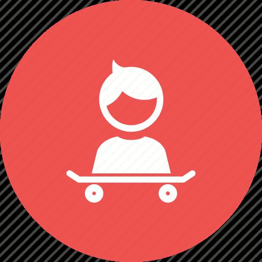 boy, child, happy, kid, skate, skateboard, sports icon