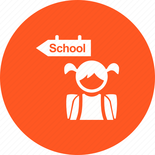 children, going, group, kid, kids, school, walking icon