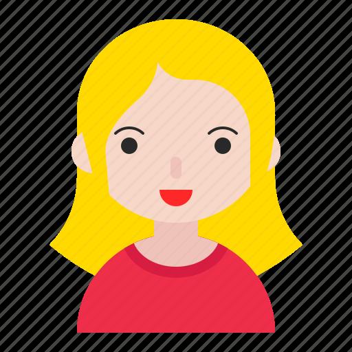 avatar, child, children, girl, kid icon