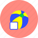 ball, fun, game, play, sports, summer, toy icon