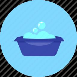 bath, bathtub, hygiene, infant, kid, toy, tub icon