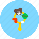 beanbag, bear, kid, newborn, teddy, toy, toys icon