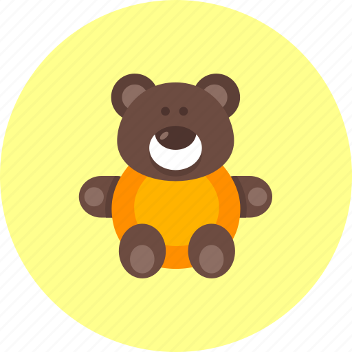baby, bear, infant, kids, newborn, teddy, toy icon