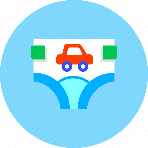 baby, clothing, diaper, diapers, dipper, infant, kids icon